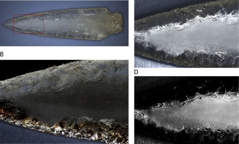 Un poignard et des armatures en cristal de roche - Espagne, Néo final Dague_10