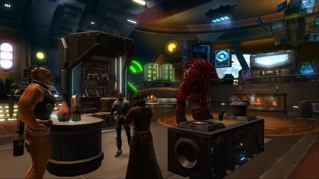 Petite visite du vaisseau amiral des Galactic Hackers: le Ghost Memory Harbor... Gmh111