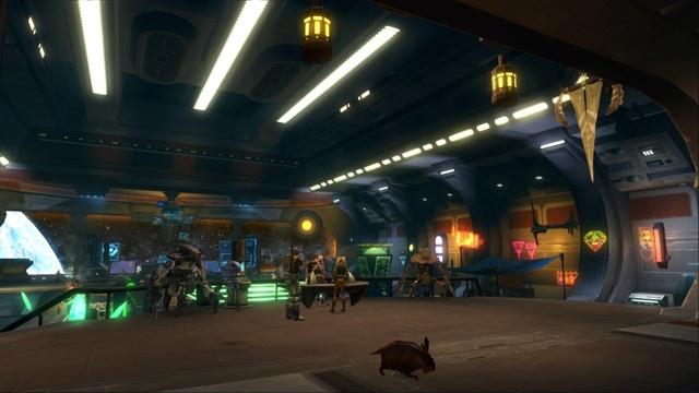 Petite visite du vaisseau amiral des Galactic Hackers: le Ghost Memory Harbor... Gmh211