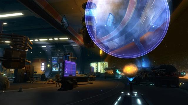 Petite visite du vaisseau amiral des Galactic Hackers: le Ghost Memory Harbor... Gmh311