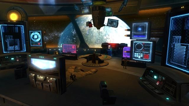 Petite visite du vaisseau amiral des Galactic Hackers: le Ghost Memory Harbor... Gmh411