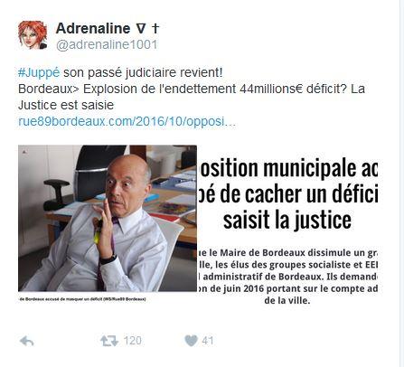 L'opposition au conseil municipal de BORDEAUX révèle un déficit municial de 44 millions €, ALI JUPPE est candidat à la présidence de la république et a des casseroles venant de la mairie de PARIS Juppe_10