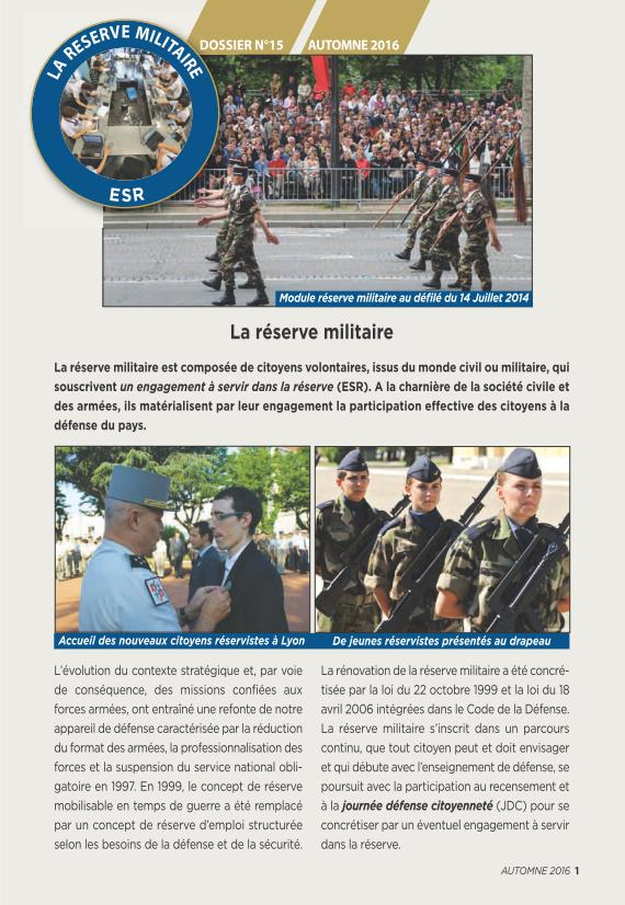 LA RESERVE MILITAIRE - ESR Reserv10