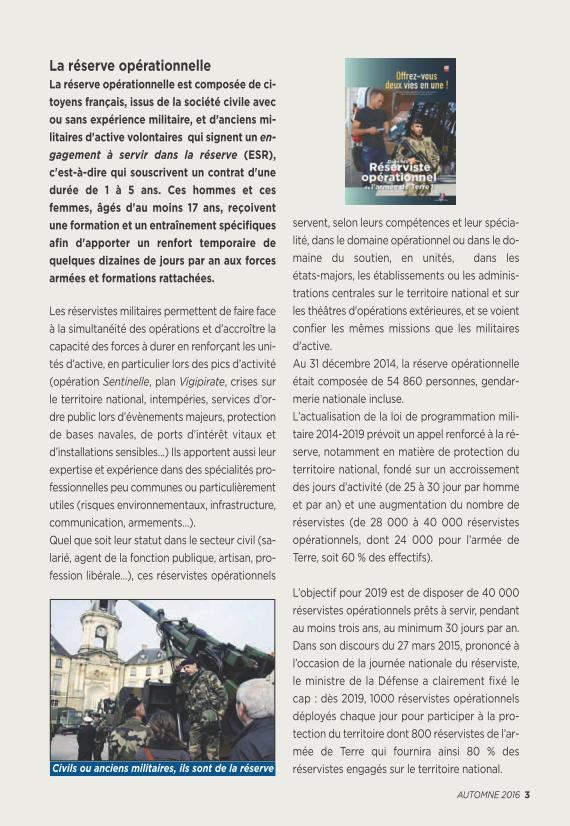 LA RESERVE MILITAIRE - ESR Reserv12