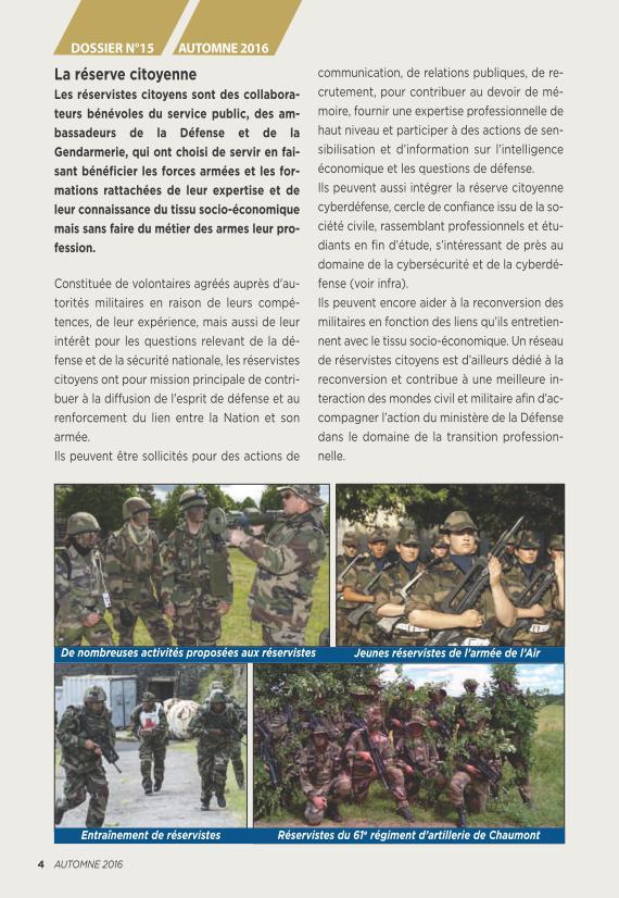 LA RESERVE MILITAIRE - ESR Reserv13