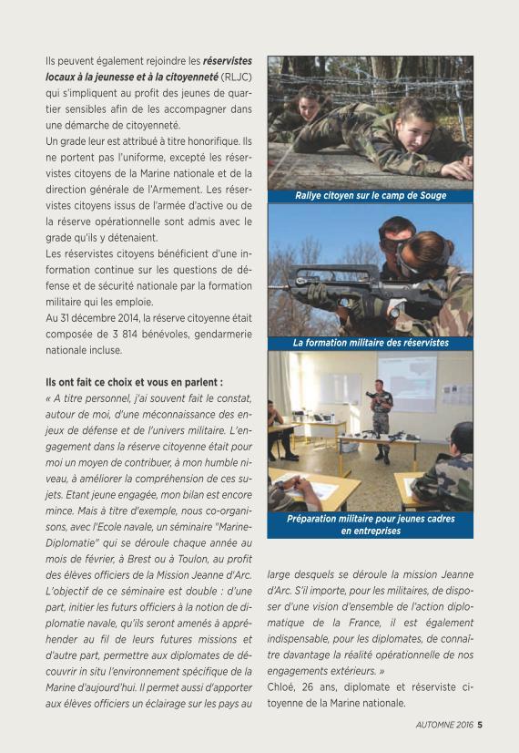LA RESERVE MILITAIRE - ESR Reserv14