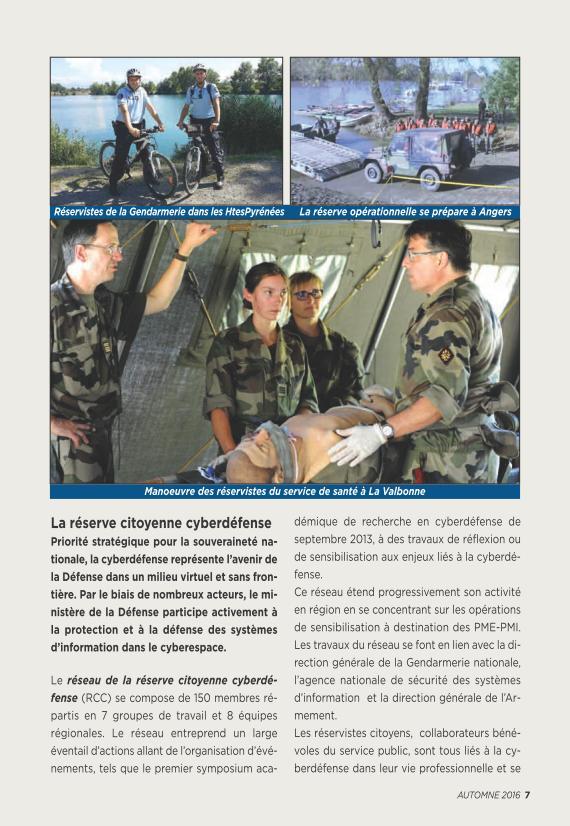 LA RESERVE MILITAIRE - ESR Reserv16
