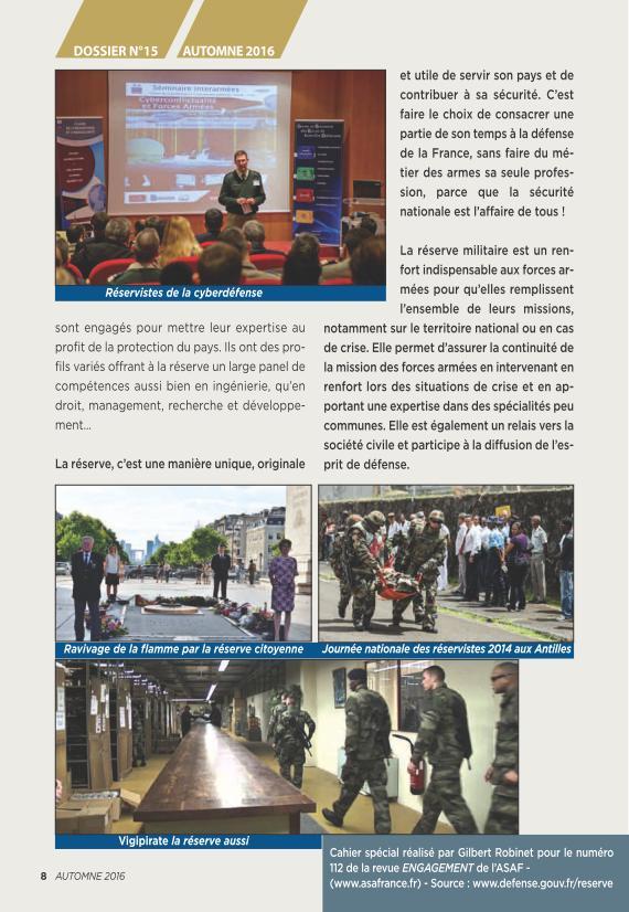 LA RESERVE MILITAIRE - ESR Reserv17