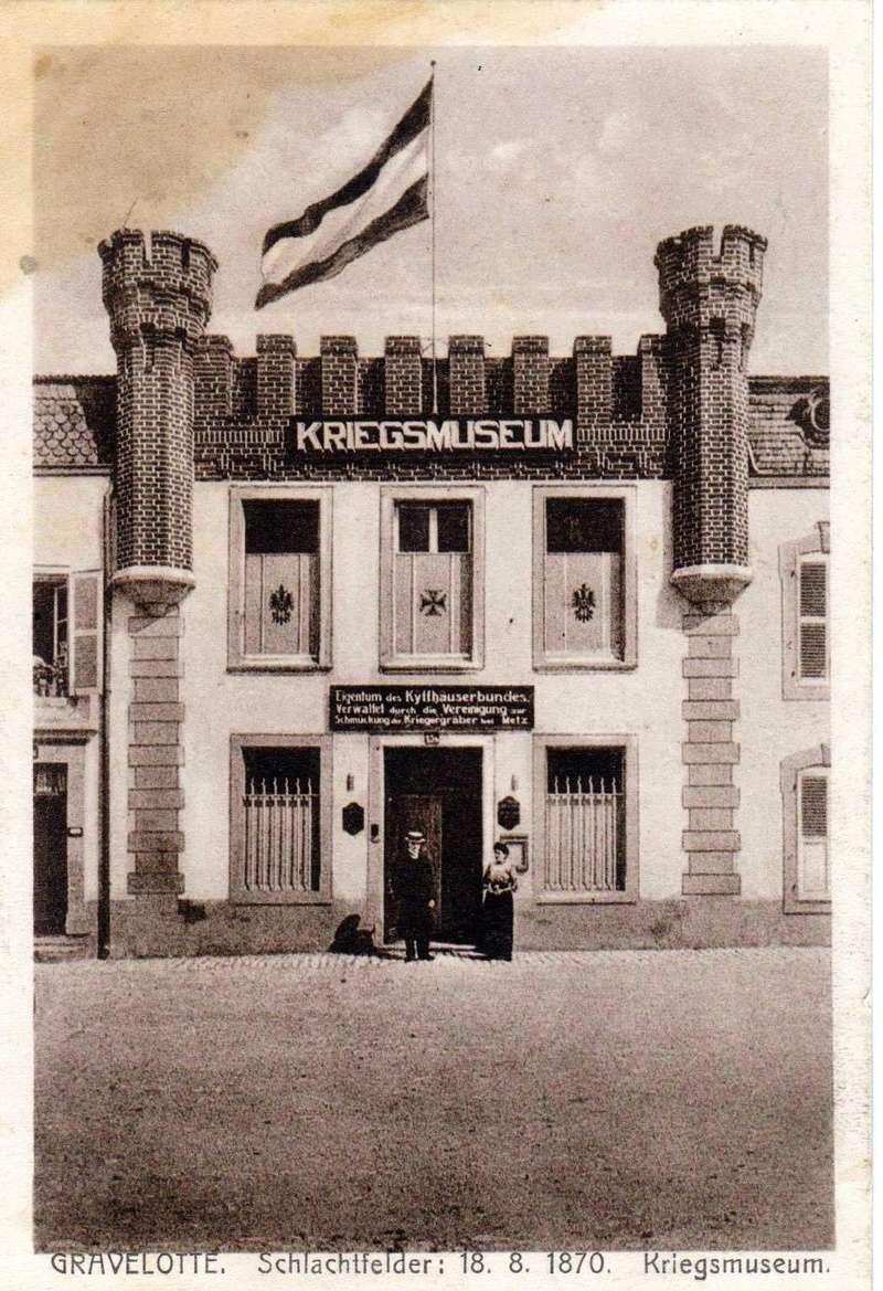 Musée de Gravelotte, dit de la Guerre de 1870 et de l'Annexion.  00111
