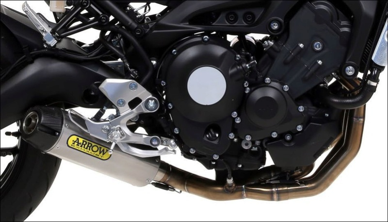 pots ARROWS sur XSR 900 4_5710