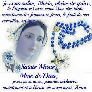 prier un ou plusieurs rosaire(s) entier(s) ensemble 13645010
