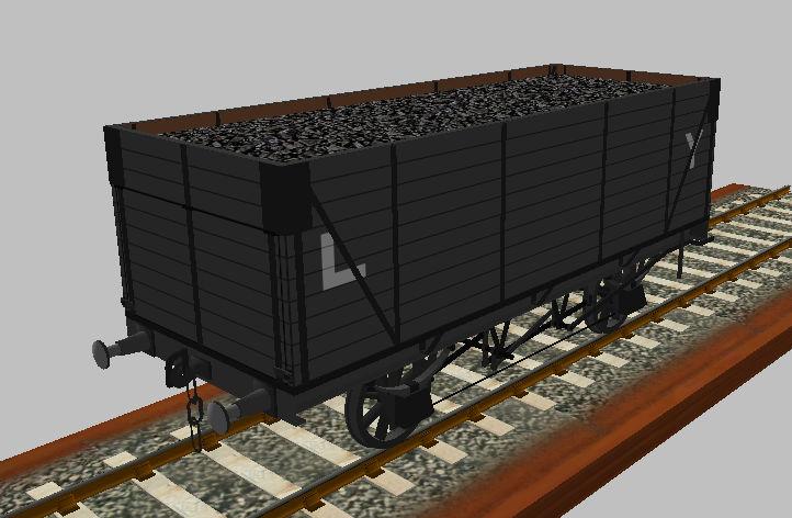 Rufuskins' Workshop LYR Wagons - Page 4 D07110