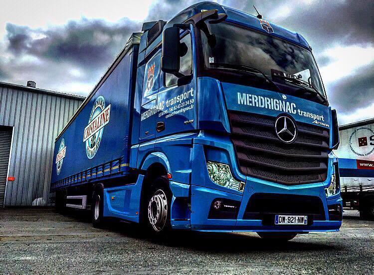 Merdrignac Transport  (Le Mans, 72)(groupe Dufour) 14371911