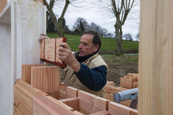 Des briques en bois 1116
