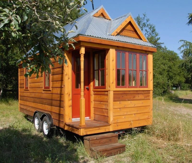 "La ""Tiny House"" ou mini maison nomade 1119"