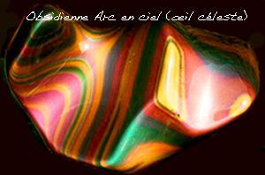 Obsidienne Manto Huichol 215