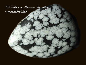 Obsidienne Manto Huichol 611