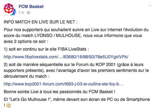 [J.03] IE Oullins Ste Foy Basket-Ball - FC MULHOUSE : 85 - 73 Captur19