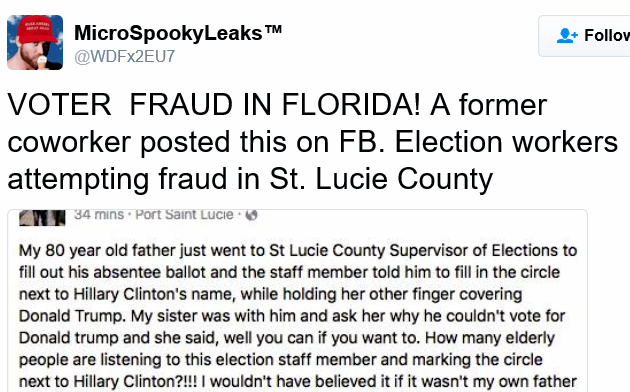 Voter Fraud in Florida... Micros10