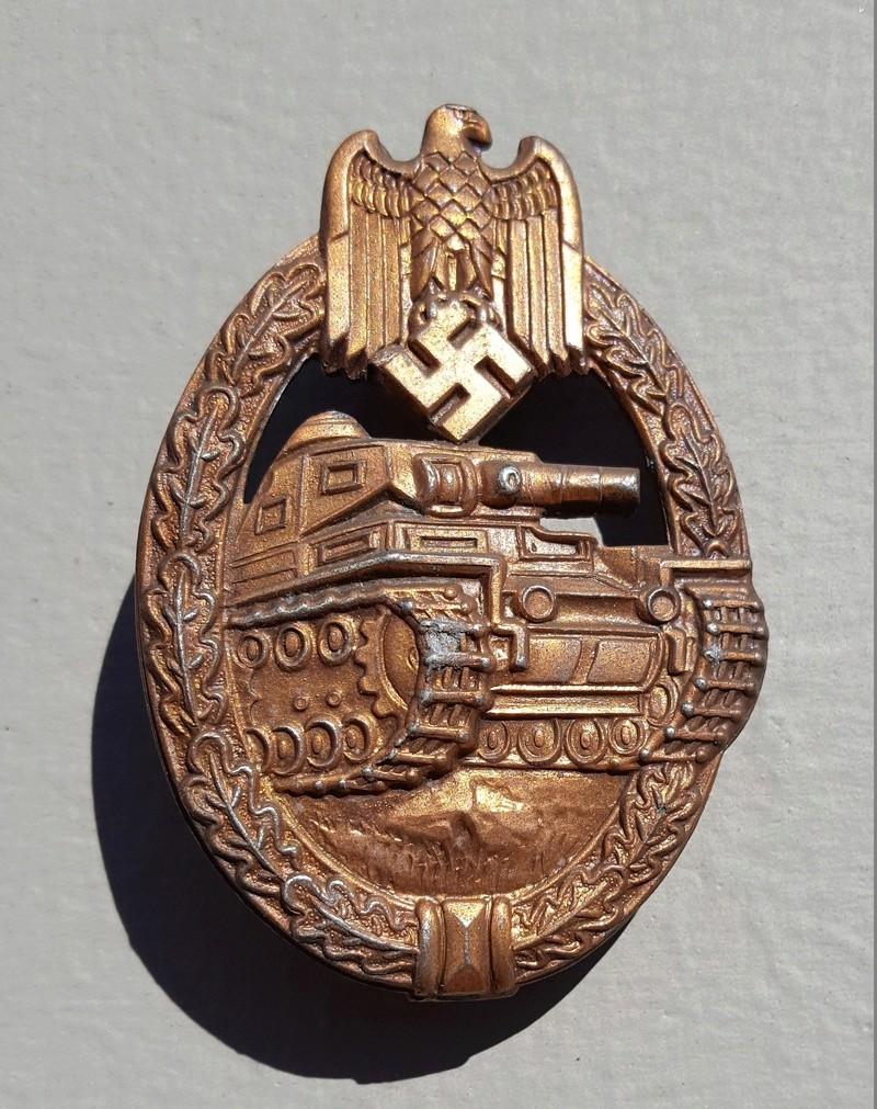 Panzerkampfabzeichen bronze Rodolf SOUVAL 20160924