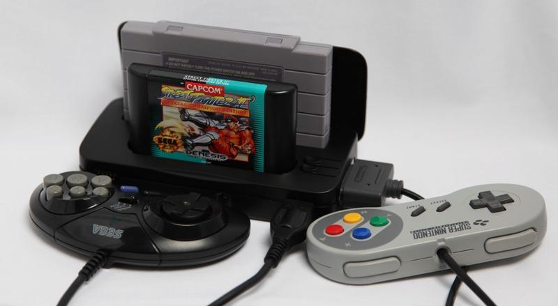 Retrode adaptateur cartouche et manette USB Sega et Nintendo pour PC R2-car10