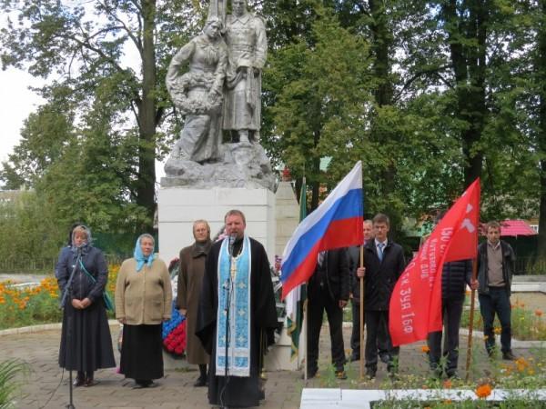 73 годовщина освобождения Демидовского района от немецко -фашистских захватчиков 123