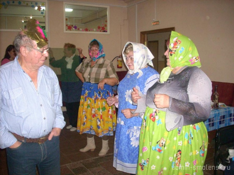 Посиделки для пожилых людей  139