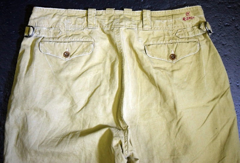 Not even the Storey Collection has an example of these ultra rare Canadian trousers... C411