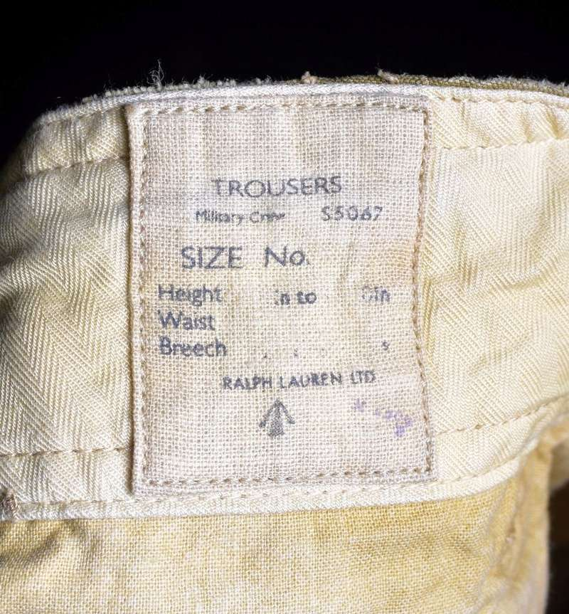 Not even the Storey Collection has an example of these ultra rare Canadian trousers... C612