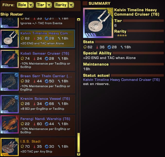 Heavy - Kelvin Timeline Heavy Command Cruiser - Spécifications Captu373