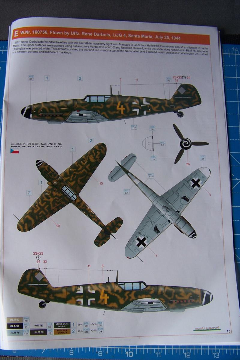 Bf-109 G6 Ufz René Darbois Juillet 44 (Eduard 1/48) 100_0066