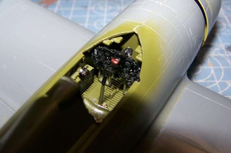 Republic P-47 D22 50th FG 81st FS Catz(ALG A10) Juin 44 ( Tamiya 1/48 ) 100_0136