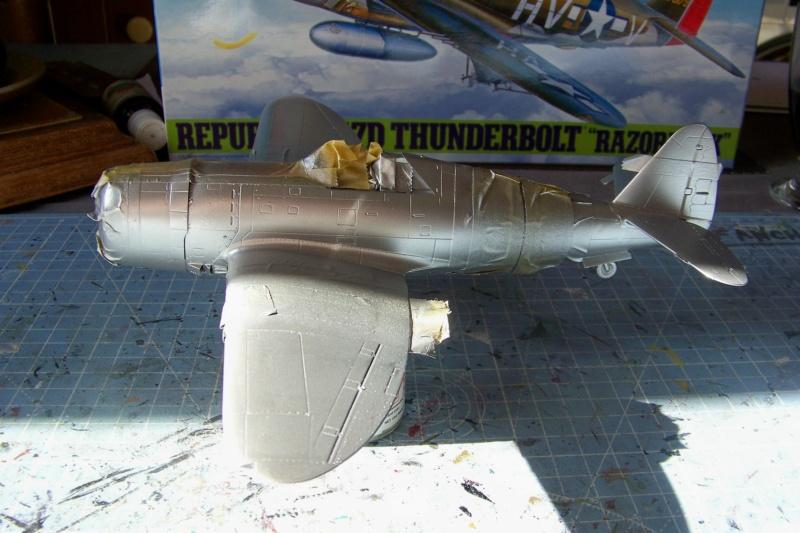 Republic P-47 D22 50th FG 81st FS Catz(ALG A10) Juin 44 ( Tamiya 1/48 ) 100_0153