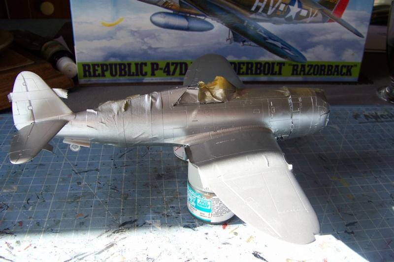 Republic P-47 D22 50th FG 81st FS Catz(ALG A10) Juin 44 ( Tamiya 1/48 ) 100_0156