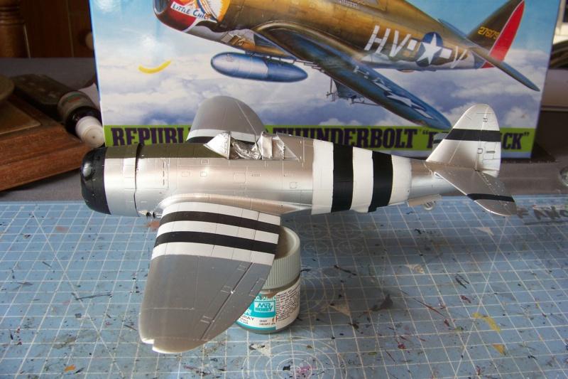 Republic P-47 D22 50th FG 81st FS Catz(ALG A10) Juin 44 ( Tamiya 1/48 ) 100_0157