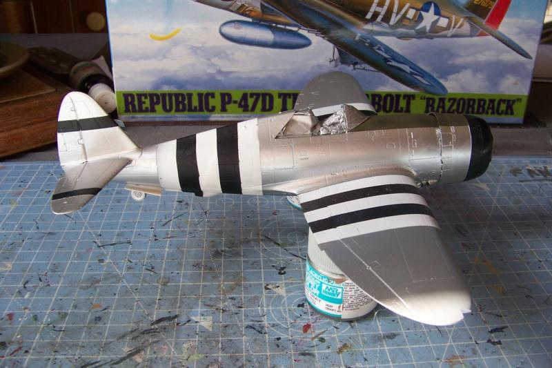 Republic P-47 D22 50th FG 81st FS Catz(ALG A10) Juin 44 ( Tamiya 1/48 ) 100_0160