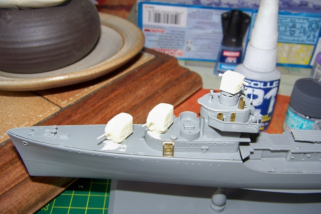 USS Murphy DD603 (Dragon 1/350 USS Laffey Classe Benson) 100_0715