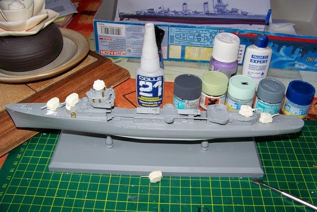 USS Murphy DD603 (Dragon 1/350 USS Laffey Classe Benson) 100_0720
