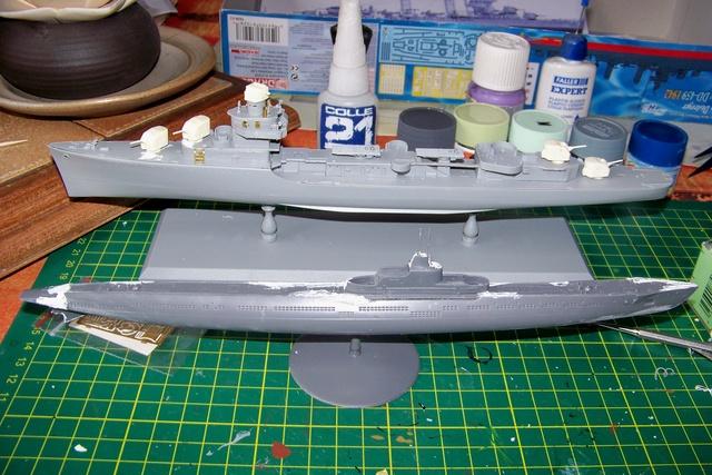 USS Murphy DD603 (Dragon 1/350 USS Laffey Classe Benson) 100_0721