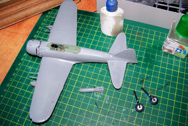 A6M7 Reisen Hasegawa 1/48 (Fini) 100_1012