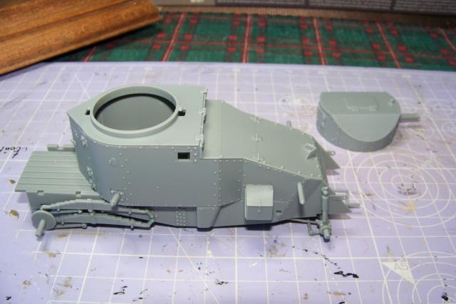 Auto Mitrailleuse Lanchester ( CSM 1/35) FINI 100_3551