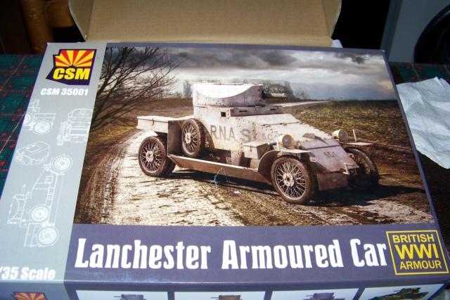 Auto Mitrailleuse Lanchester ( CSM 1/35) FINI 100_3553