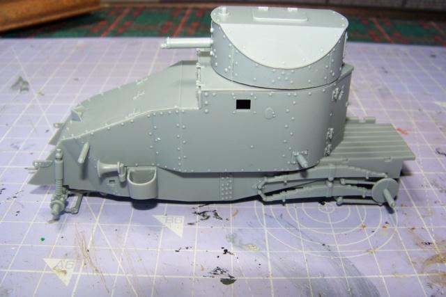 Auto Mitrailleuse Lanchester ( CSM 1/35) FINI 100_3558