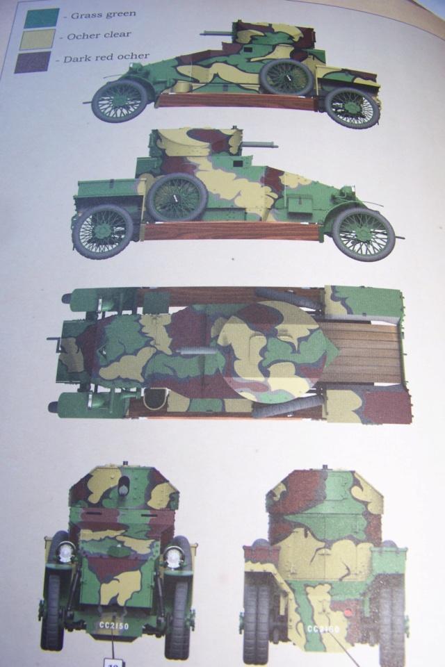 Auto Mitrailleuse Lanchester ( CSM 1/35) FINI 100_3568