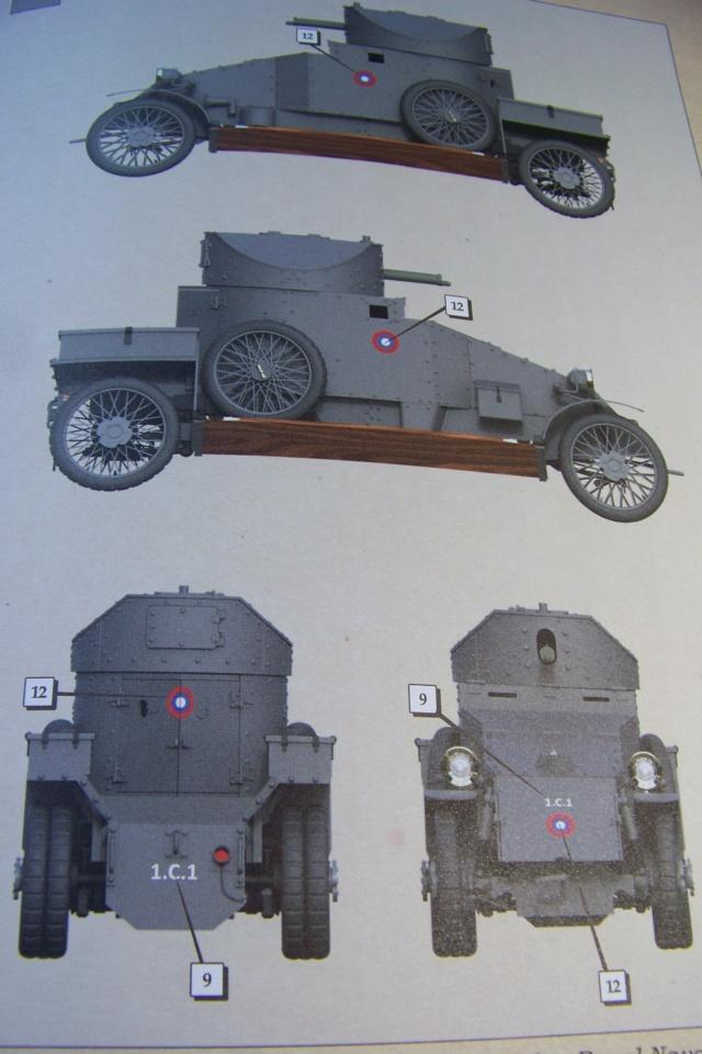 Auto Mitrailleuse Lanchester ( CSM 1/35) FINI 100_3569
