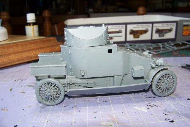 Auto Mitrailleuse Lanchester ( CSM 1/35) FINI 100_3611