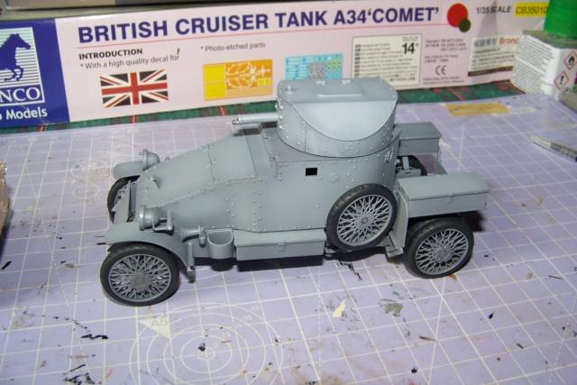 Auto Mitrailleuse Lanchester ( CSM 1/35) FINI 100_3613