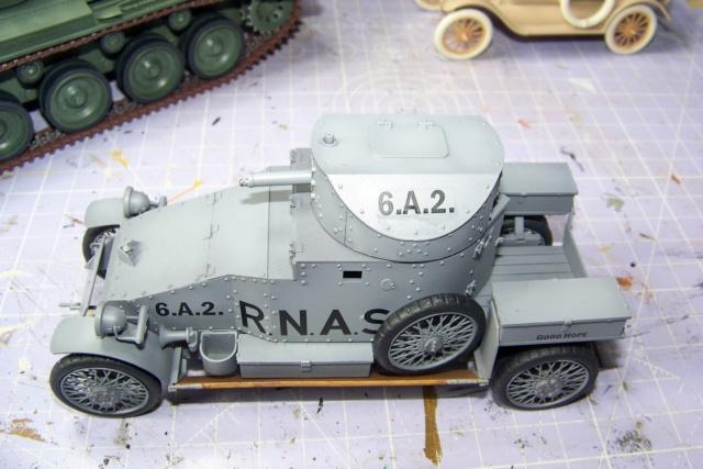 Auto Mitrailleuse Lanchester ( CSM 1/35) FINI 100_3624