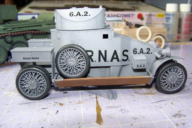 Auto Mitrailleuse Lanchester ( CSM 1/35) FINI 100_3625