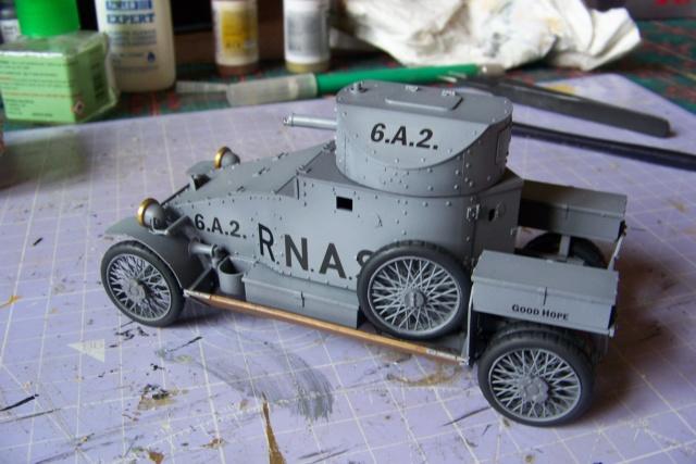 Auto Mitrailleuse Lanchester ( CSM 1/35) FINI 100_3646